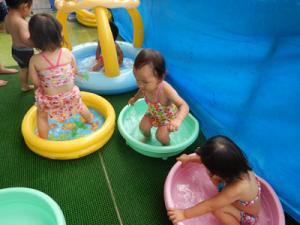 水遊び保育部